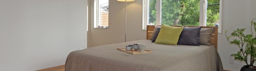 寝室の風景